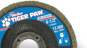 Tiger Paw High Performance Flap Discs
